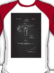 Vintage Firefighter Axe Patent 1925 T-Shirt