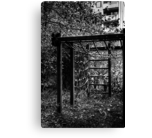 10.10.2014: Abandoned Playground II Canvas Print