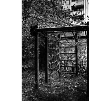 10.10.2014: Abandoned Playground II Photographic Print