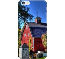 Barn and Out-Buildings Brunner Family Farm iPhone Case/Skin