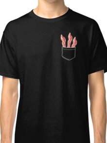 Bacon In Pocket Classic T-Shirt