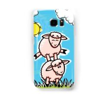 HeinyR- Sheep Friends Samsung Galaxy Case/Skin