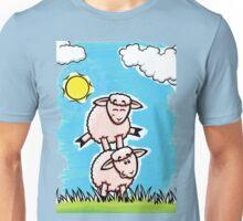 HeinyR- Sheep Friends Unisex T-Shirt