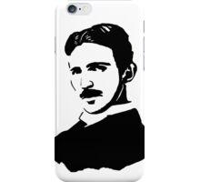 Nikola Tesla Stencil iPhone Case/Skin