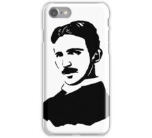 Nikola Tesla Stencil iPhone Case/Skin