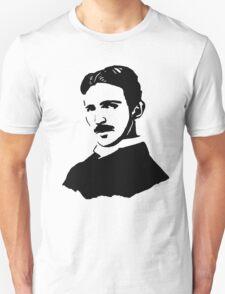 Nikola Tesla Stencil Unisex T-Shirt