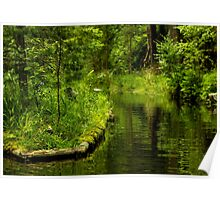 Green Peaceful Land - Nature Photography Poster