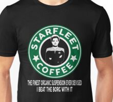 There's Janeway's Coffee in That Nebula! Unisex T-Shirt