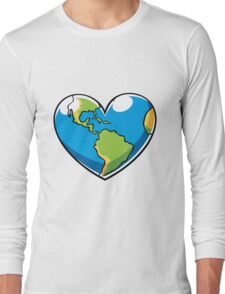 Ecology Concept Long Sleeve T-Shirt