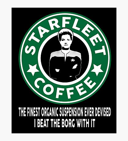 There's Janeway's Coffee in That Nebula! Photographic Print