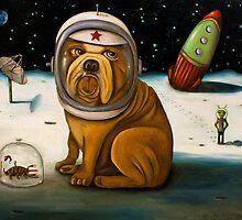 Space Crash by LeahSaulnier