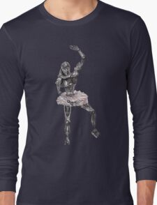 Cute Cylon Ballerina Long Sleeve T-Shirt