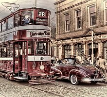 Middleton Tram - Hand Tinted Effect by © Steve H Clark Photography