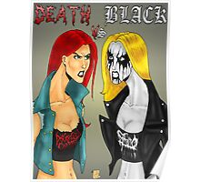 Death Metal Vs. Black Metal: Battle Of The Metals Poster