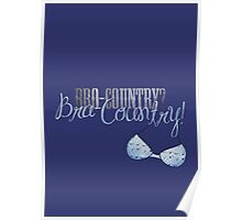 Bra-Country! (poster) Poster