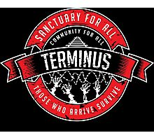 Terminus Photographic Print