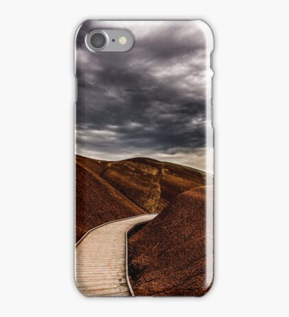 Walking the Red Hill iPhone Case/Skin