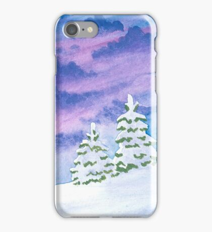 Winter Evening iPhone Case/Skin