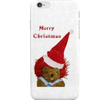 A Snowflake Christmas for Teddy iPhone Case/Skin