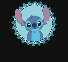 Stitch and flowers T-Shirt