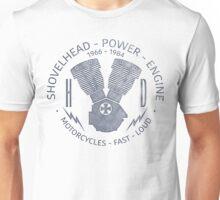 Harley Davidson Shovelhead Power 1966 - 1984 Unisex T-Shirt