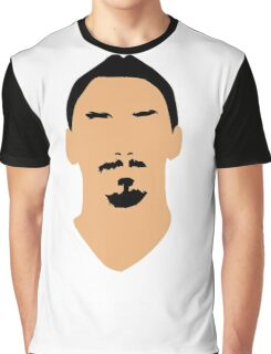 ibrahimovic face Graphic T-Shirt