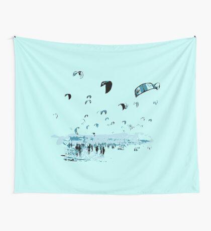Kite Surfing Tarifa Wall Tapestry