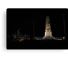 Lunar Eclipse - Perth, Western Australia Canvas Print