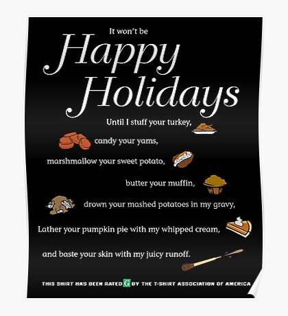 It's not Happy Holidays until... Poster