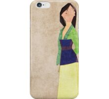 Mulan inspired design. iPhone Case/Skin
