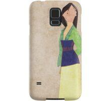 Mulan inspired design. Samsung Galaxy Case/Skin