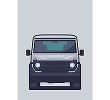Mercedes G-Class (Grey) Photographic Print