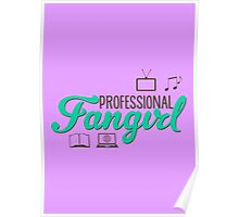 Professional Fangirl (poster) Poster