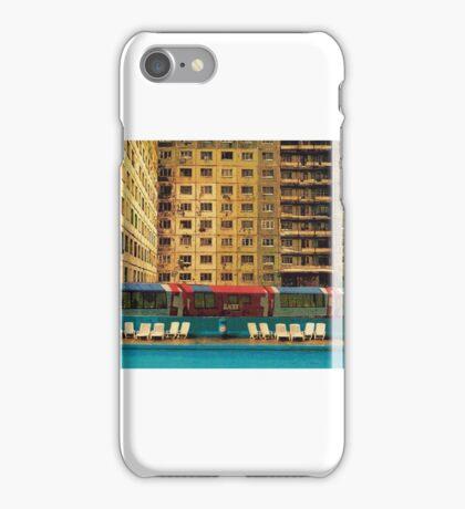 hotel surburbia iPhone Case/Skin