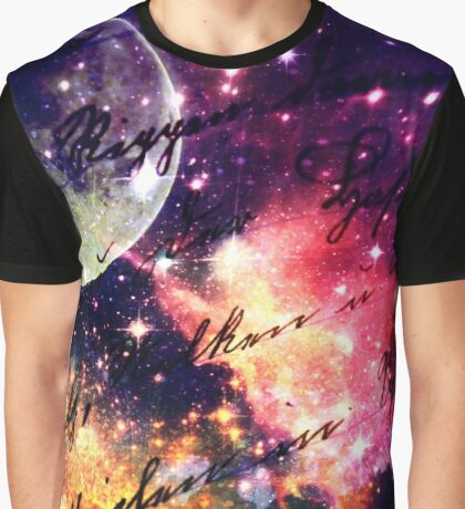 Letter from outer space Graphic T-Shirt