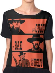 BTTF: The good, the bad and the ugly Chiffon Top