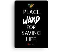 Ward for Life Canvas Print