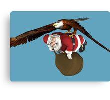 Santa Claus Will Have Some Delay Canvas Print