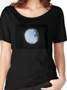 Skyview at the Blarney Castle  Women's Relaxed Fit T-Shirt