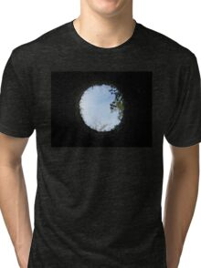 Skyview at the Blarney Castle  Tri-blend T-Shirt