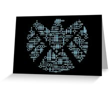 Alien Agents Greeting Card