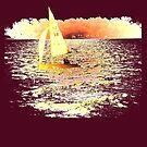 Sailing Lake Ontario by Marie Van Schie