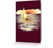 Sailing Lake Ontario Greeting Card