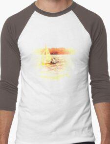 Sailing Lake Ontario Men's Baseball ¾ T-Shirt