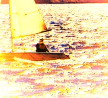 Sailing Lake Ontario Sticker