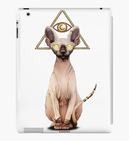 Feline God iPad Case/Skin