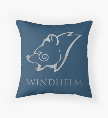 WINDHELM SKYRIM Throw Pillow