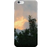 Clouds on Fire - Sunrise and Sun Facts iPhone Case/Skin