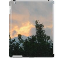 Clouds on Fire - Sunrise and Sun Facts iPad Case/Skin