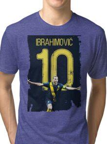 ibrahimovic 10 Tri-blend T-Shirt